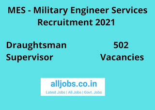 Military Engineer Services Recruitment