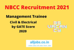 NBCC Management Trainee
