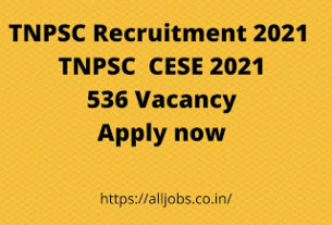 TNPSC-Recruitment